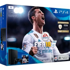 PlayStation 4 SLIM Bundle (1 Tb, FIFA 18), , Консоли